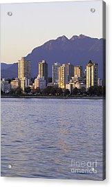 Vancouver Downtown Canada Acrylic Print by Ryan Fox