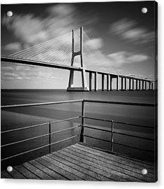 Vasco Da Gama Bridge Acrylic Print