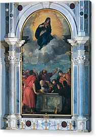 Vecellio Tiziano Known As Titian Acrylic Print by Everett