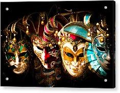 Venetian Masks Acrylic Print