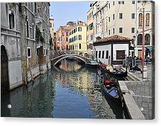 Acrylic Print featuring the photograph Venice Italy by John Jacquemain