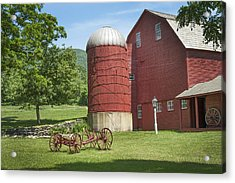 Vermont Red Acrylic Print by Ray Summers Photography