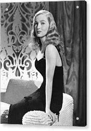 Veronica Lake, Ca. Early 1940s Acrylic Print by Everett