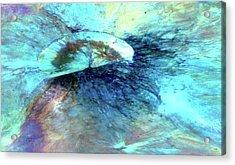 Vesta Asteroid Surface Acrylic Print
