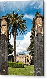 Vesuvius Acrylic Print by Marion Galt