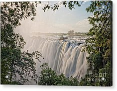 Victoria Falls Acrylic Print by Delphimages Photo Creations