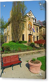 D47l-14 Victorian Village Photo Acrylic Print