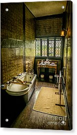 Victorian Wash Room Acrylic Print by Adrian Evans