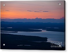 View From Cadillac Mountain Acrylic Print by Diane Diederich