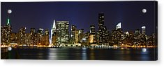 View From Gantry Plaza State Park Acrylic Print by Theodore Jones