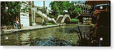 View Of The San Antonio River Walk, San Acrylic Print