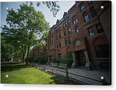 Views Of Yale University As Ivy League Pay Soars Acrylic Print by Bloomberg