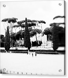 Villa Borghese Acrylic Print by Eugenia Kirikova