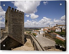 Village Of Monsaraz Portugal Acrylic Print by Jim  Wallace