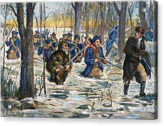 Vincennes: March, 1779 Acrylic Print by Granger