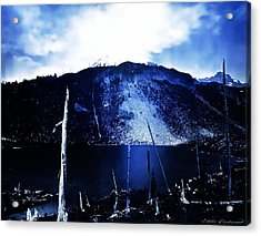 Vintage Lake Louise Early 1900 Era... Acrylic Print