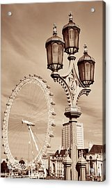 Vintage Lamp Post Acrylic Print