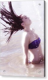 Vintage Water Fun Acrylic Print by Jorgo Photography - Wall Art Gallery