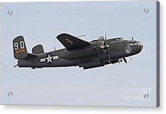 Vintage World War II Bomber Acrylic Print
