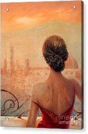 Visions Of Florence Acrylic Print