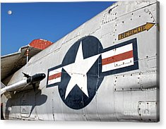 Vought Crusader 8-u1 Acrylic Print by Gregory Dyer