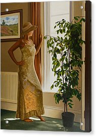 Waiting For Her Lover Acrylic Print