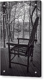 Waiting For Spring Acrylic Print