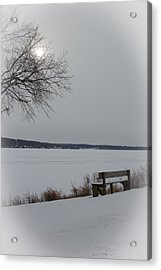 Waiting On Spring Acrylic Print by Kathleen Scanlan