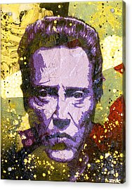 Walken My Ass Off Acrylic Print by Bobby Zeik