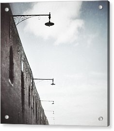 Warehouse Lamps Acrylic Print