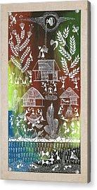 Village Acrylic Print