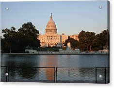 Washington Dc - Us Capitol - 011311 Acrylic Print