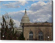 Washington Dc - Us Capitol - 011314 Acrylic Print by DC Photographer