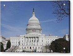 Washington Dc - Us Capitol - 01138 Acrylic Print by DC Photographer