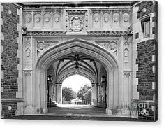 Washington University Brookings Hall Acrylic Print by University Icons