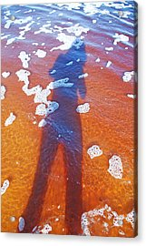 Acrylic Print featuring the photograph Water Babe by Ankya Klay