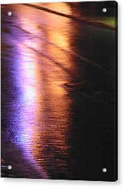 Water Colours 12 Acrylic Print by Bernie Smolnik