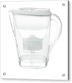 Water Filter Jug Acrylic Print by Science Photo Library