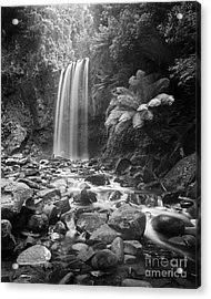 Waterfall 09 Acrylic Print by Colin and Linda McKie