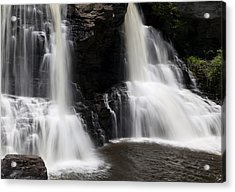 Waterfall 2 Acrylic Print by David Lester