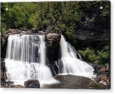 Waterfall 3 Acrylic Print by David Lester