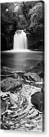 Waterfall In A Forest, Thomason Foss Acrylic Print