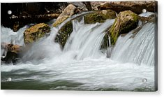 Waterfall - Zion National Park Acrylic Print