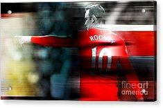 Wayne Rooney Acrylic Print