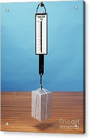 Weight In Air And Water, Image 1 Of 2 Acrylic Print by Andrew Lambert Photography