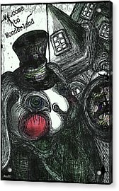 Welcome To Wonderland Acrylic Print by Akiko Okabe