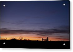 West Texas Sunset Acrylic Print by Melany Sarafis