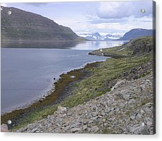 Acrylic Print featuring the photograph Westfjords by Christian Zesewitz