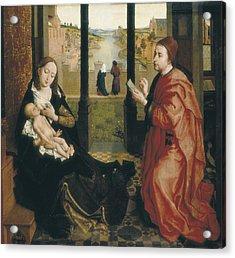Weyden, Rogier Van Der  1400-1464. St Acrylic Print