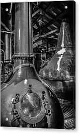 Whiskey Works Acrylic Print